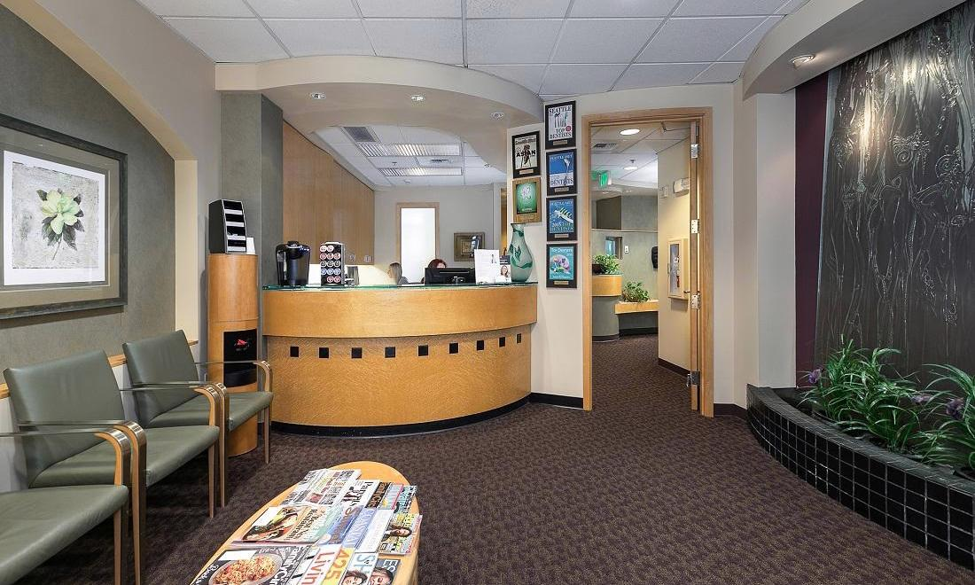 Front Desk at Our Mill Creek WA Dental Office