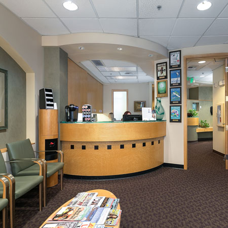 Mill Creek Dental Health Care front office
